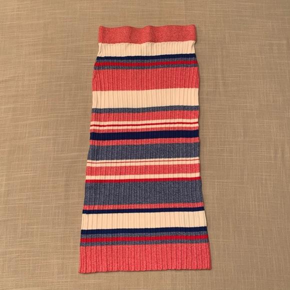 H&M Sweater Midi Skirt